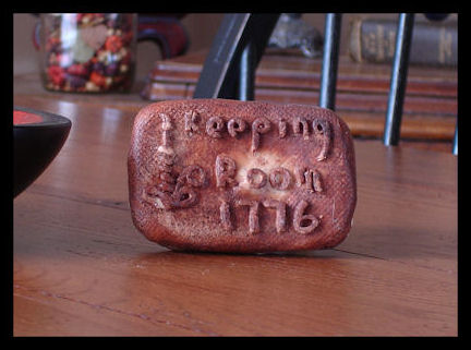 Primitive Soap - Keeping Room-Primitive soap, grubbied soap, keeping room soap
