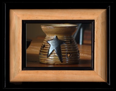 Star Tart Warmer-star warmer, primitive tart warmer, tea light warmer